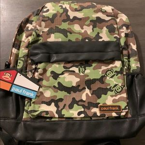 Paul Frank Camouflage Backpack